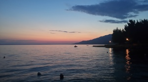 Sunset in Starigrad-Paklenica, Croatia