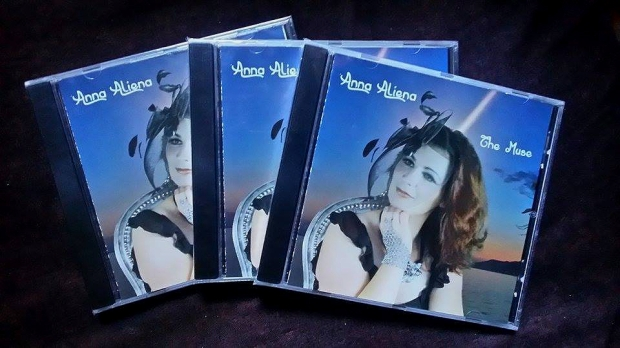 Three copies of The Muse